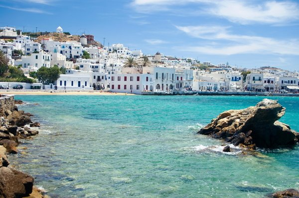 Греция, о Миконос