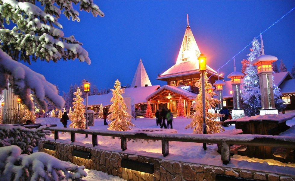 Деревня санта клауса финляндия фото
