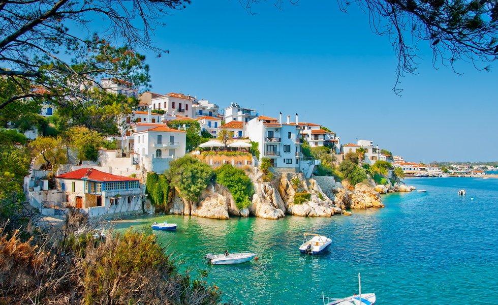 отдых границей греция